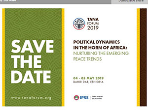 Save the date: Tana Forum 2019